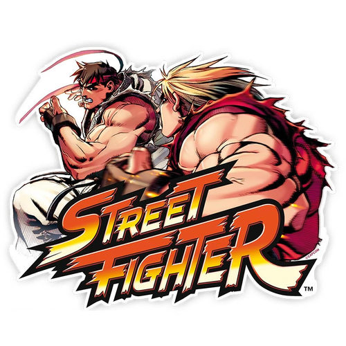 ALFOMBRILLA RATÓN STREET FIGHTER KEN VS RYU