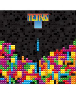 ALFOMBRILLA RATÓN TETRIS BRICKS