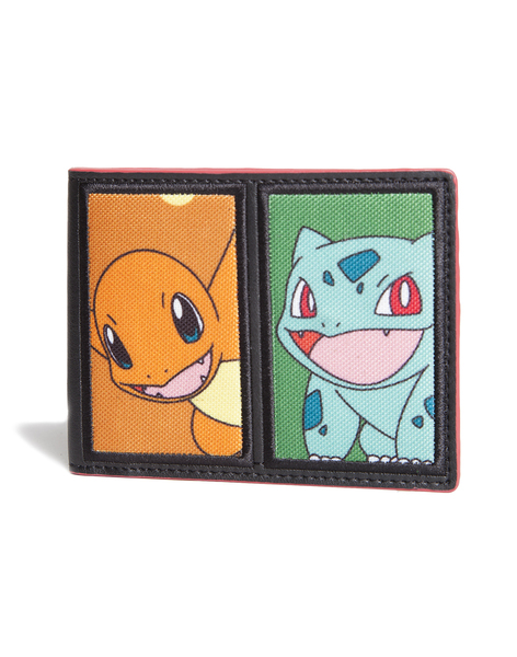 CARTERA POKÉMON BULBASUR | CHARMANDER