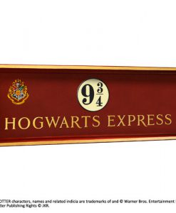 CARTEL HARRY POTTER RÉPLICA ESCUDO HOGWARTS EXPRESS