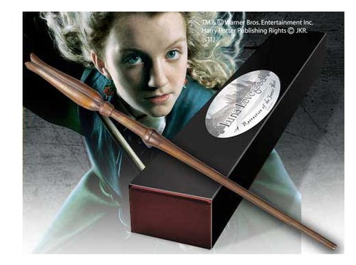 VARITA HARRY POTTER RÉPLICA LUNA LOVEGOOD ESCALA REAL 1/1