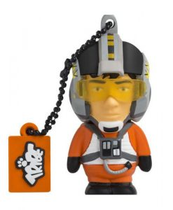 USB STAR WARS PILOTO XWING 8 GB
