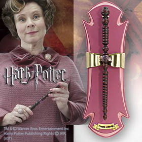 VARITA HARRY POTTER RÉPLICA DOLORES UMBRIDGE ESCALA REAL 1/1