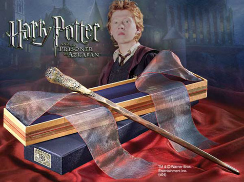 VARITA HARRY POTTER RÉPLICA RON WESLEY ESCALA REAL 1/1