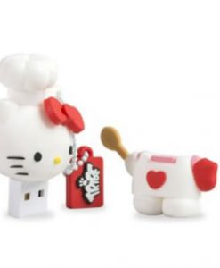 USB HELLO KITTY COCINERA 8 GB