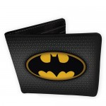 CARTERA BATMAN LOGO DC CÓMICS VINILO
