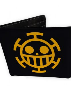 CARTERA ONE PIECE TRAFALGAR LAW LOGO VINILO