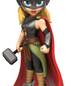 FIGURA LADY THOR ROCK CANDY MARVEL CÓMICS 12 CM