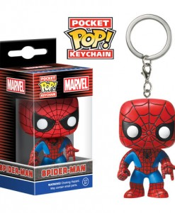 LLAVERO FUNKO POP SPIDERMAN MARVEL CÓMICS