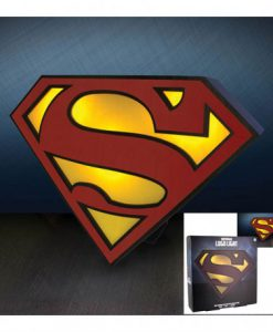 LÁMPARA SUPERMAN LOGO DC CÓMICS