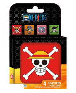 POSAVASOS ONE PIECE LOGO PIRATAS