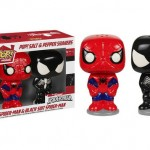 SALERO Y PIMENTERO FUNKO POP SPIDERMAN  Y VENOM MARVEL CÓMICS
