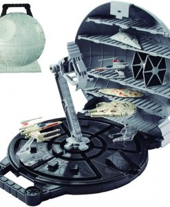 MALETIN STAR WARS ESTRELLA DE LA MUERTE HOT WHEELS 30 CM (SIN NAVES)