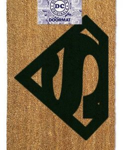FELPUDO SUPERMAN LOGO DC