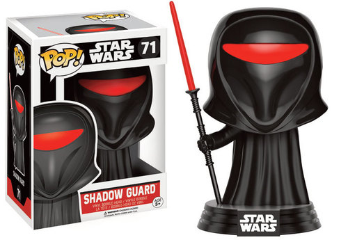 FIGURA FUNKO POP STAR WARS SHADOW GUARD