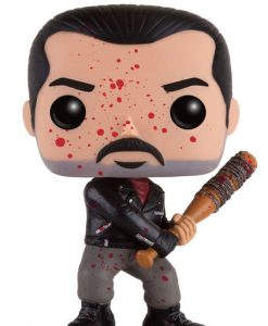 FIGURA FUNKO POP THE WALKING DEAD NEGAN ENSANGRENTADO EDICION LIMITADA
