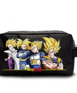 ESTUCHE NECESER DRAGON BALL GOKU | GOHAN | VEGETA | TRUNKS | SUPER SAIYANS