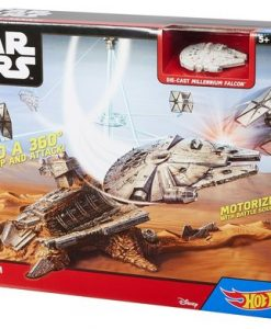 STAR WARS HALCON MILENARIO ESCAPE DE JAKKU HOT WHEELS