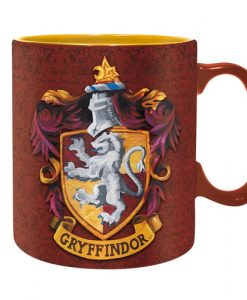 TAZA HARRY POTTER CASA GRYFFINDOR