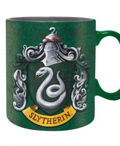 TAZA HARRY POTTER CASA SLYTHERIN