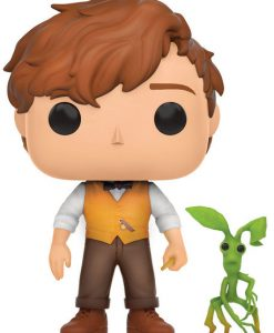FIGURA FUNKO POP HARRY POTTER ANIMALES FÁNTASTICOS Y DÓNDE ENCONTRARLOS NEWT SCAMANDER Y PICKET