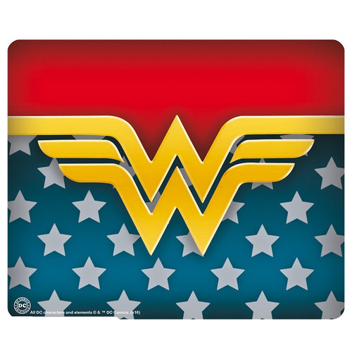 ALFOMBRILLA RATÓN WONDER WOMAN LOGO