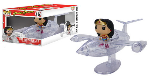 FIGURA FUNKO POP WONDER WOMAN Y JET INVISIBLE
