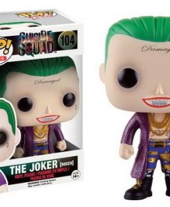 FIGURA FUNKO POP BATMAN ESCUADRON SUICIDA THE JOKER EDICION LIMITADA