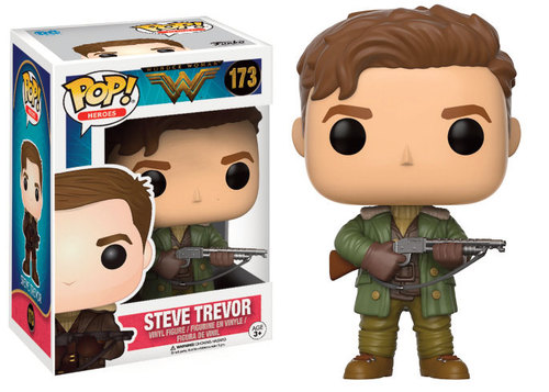 FIGURA FUNKO POP WONDER WOMAN STEVE TREVOR