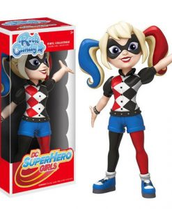 FIGURA BATMAN ROCK CANDY HARLEY QUINN 12 CM