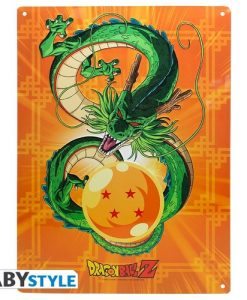 POSTER METÁLICO DRAGON BALL DRAGON SHENRON
