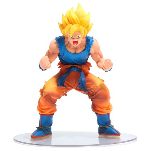 FIGURA DRAGON BALL Z SON GOKU SUPER SAIYAN DRAMATIC SHOWCASE 3RD SEASON VOL 1 13 CM