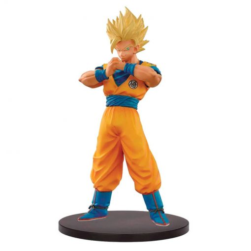 FIGURA SUPER SAIYAN 2 GOKU THE SUPER WARRIORS DRAGON BALL Z DXF 18 CM